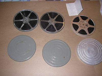 3 Seven Inch 8mm Home Movies