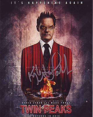 KYLE MACLACHLAN signed autographed TWIN PEAKS DALE COOPER photo