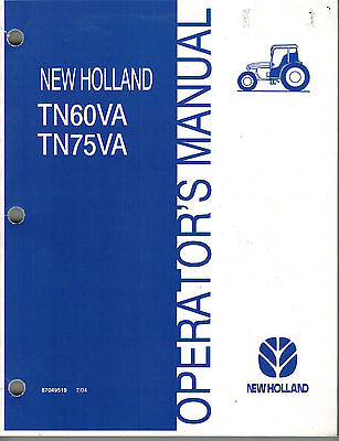 Tn 75 Owners Manual New Holland Tn S X Wiring Diagram on