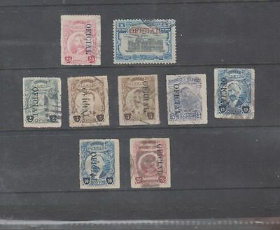 oldhal-Mexico/Official Lot/ Scott#014 //0152/1921-30