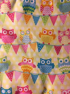 Pretty Owls Stethoscope Cover - NEW- Handmade - FREE S&H