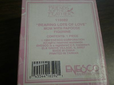 Enesco Friends of the Feather Bearing lots of love 115592 New Sealed in Box