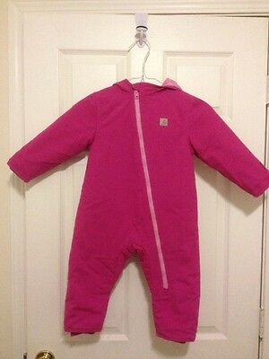 Carhartt Infant/Toddler/Kid Quilted Duck Snowsuit 24 month Winter Clothing