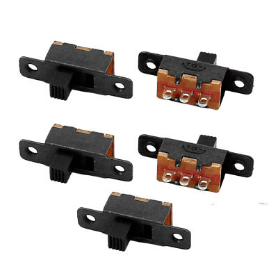 5Pcs SS-12F16 2 Position 3P SPDT Miniature Slide Switch Latching Toggle Switch