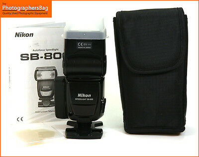Nikon SB-800 Portable Electronic Speedlite Flash,  Free UK Postage