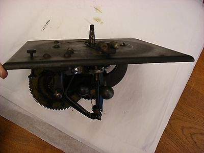 Phonograph Gramophone Parts - Original Victor Front Mount Model R Mechanism