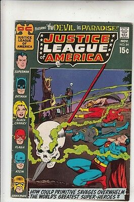 Justice League of America #84 strict VF+ 8.5 High-Grade  100s more JLA up now