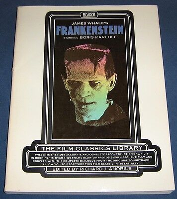 Frankenstein   Film Classics Library  1974  Complete Film Dialogue  1000 Photos!