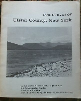 140 map Ulster Co NY Soil Survey Geology  4 Farm Homestead Land Minerals Water