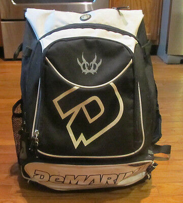 Demarini Insane Dedication to Performance Baseball Equipment Bag Backpack Style