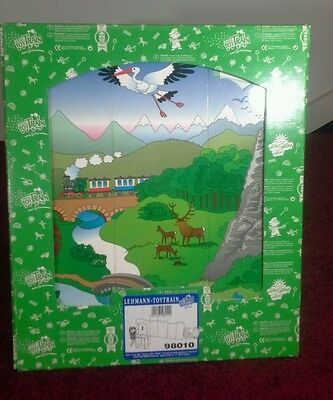 Lgb 98010 Toy Train Backdrop With Scenery-G Scale Cardboard Backdrop For Train-D