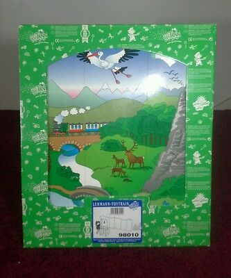 Lgb 98010 Toy Train Backdrop With Scenery-G Scale Cardboard Backdrop For Train-A
