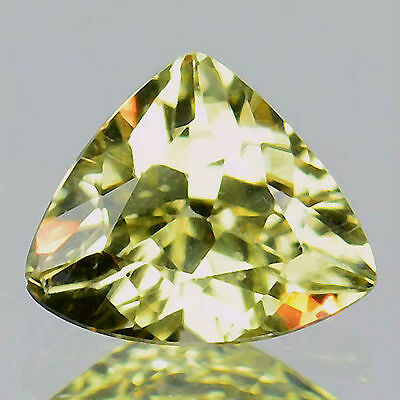 0.80 Cts Natural Unheat Color Change Diaspore Triangle Cut Turkey (FREE SHIPPING