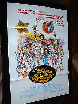 Fish That Saved Pittsburgh  Original One Sheet   Julius Erving Jonathan Winters