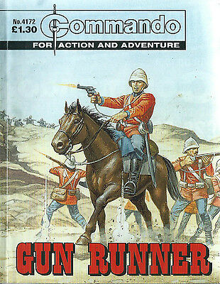Gun Runner,commando For Action And Adventure,no.4172,war Comic,2009