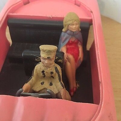 THUNDERBIRDS LADY PENELOPE'S FAB 1 FRICTION JR 21 TOY  Gerry Anderson