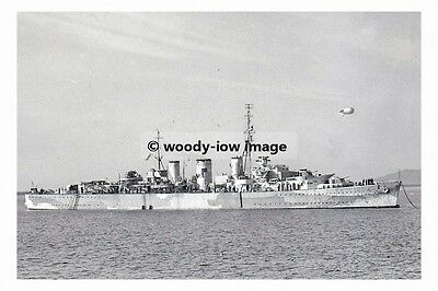 rp17884 - Royal Navy Warship - HMS Welshman , built 1941 lost 1943 - photo 6x4