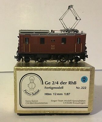HOm Ferro Suisse RhB Ge 2/4 Electric Locomotive - Nr222