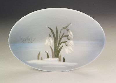 Royal Copenhagen Porcelain - Lillies Decorated Pintray - Lovely!