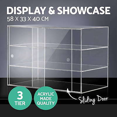 Deluxe Large Cake Bakery Display Cabinet Muffin Donut Pastries Acrylic Storage