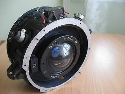 RARE USSR LOMO RUSSIAN MRO 2 Lens camera Military 8/10mm in the shutter AFA-41