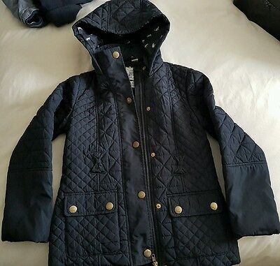 ** Girls Quilted Jacket 9-10 Years- no belt**