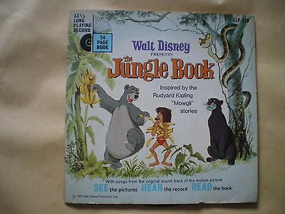 Walt Disneys The Jungle Book Record And Book