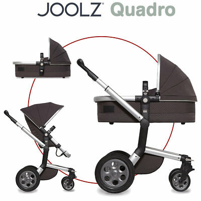 Joolz Day Quadro Kombikinderwagen - CARBON - 2016 - Neu - TOP Angebot