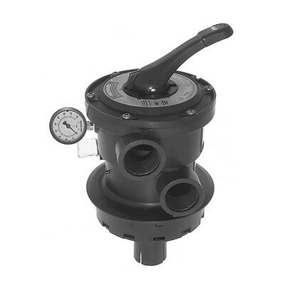 Hayward Pro Series 2 Inch Cyc Side Mount Vari Flo Control Valve, Black SP0715ALL