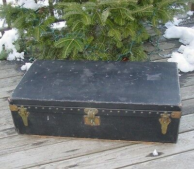 Old Signed Louis Vuitton Motor Trunk