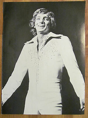 Barry Manilow, Lance Kerwin, Full Page Vintage Pinup