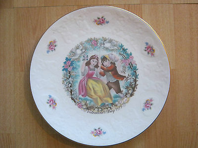 Vintage Royal Doulton Valentines Day Collectors Plate 1979