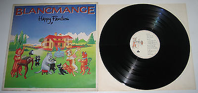 Blancmange Happy Families Lp Italian Press London