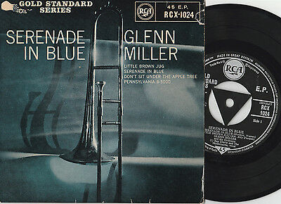 """Glenn Miller And His Orchestra Serenade In Blue (14414) Vinyl 7"""" EP 45rpm"""