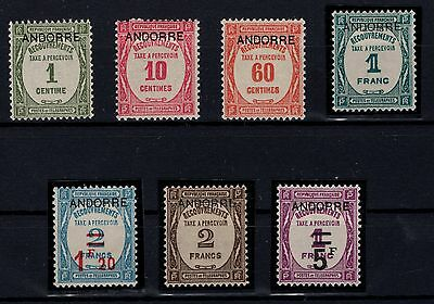 P15174/ Andorre Andorra / Maury # T9 / T15 Neufs / Mint 680 €
