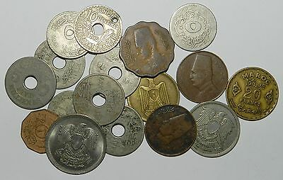 Egypt / North Africa / Middle East - Lot Of 17 Old Coins
