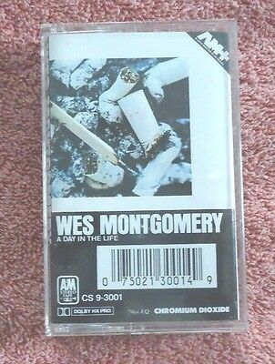 Wes Montgomery A Day In The Life (Cassette)