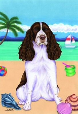 Garden Indoor/Outdoor Summer Flag (TP) - English Springer Spaniel 690801