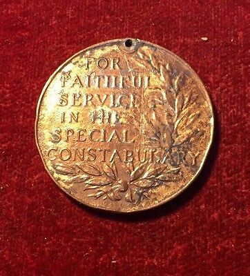 Special Constabulary Medal. King George Vi. William C. Cox.