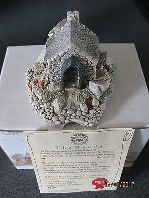 Lilliput Lane - Fishermans Bothy - With Box And Deeds From 1989