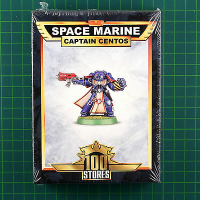 Captain Centos Space Marines Limited Edition 100 Store Exclusive 40K 3435