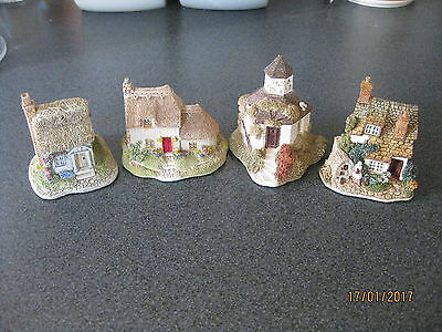 Lilliput Lane - Job Lot Of 4 Cottages - All Collectors Club Pieces