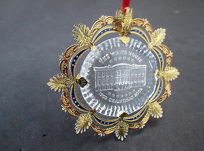 2010 The White House Historical Assoc Christmas Ornament  Army Navy 334