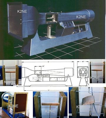 Build Your Own Wind Tunnel - Complete Plans On Cd !! - K2Ne Web Store