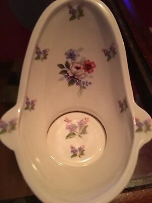 Lovely Mack Bone China Hip Bath 1 /12Th Scale