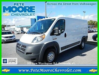"2015 Ram 1500 Low Roof Cargo Work Van 136"" WB 2015 Ram Promaster 1500 Low Roof Used 3.6L V6 Cargo Van Work Ready Money Maker!"