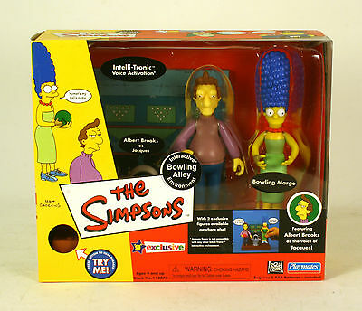 Playmates World Of Springfield The Simpsons WOS Bowling Alley