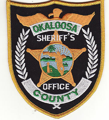 FL Okaloosa County Florida Sheriff's Office Police Patch *New*