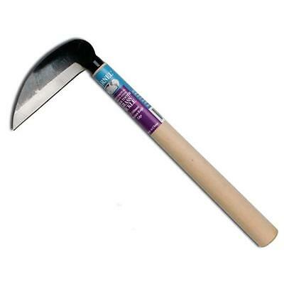 Barnel BLK733 12 in. Wood Handle Grass & Weed Sickle