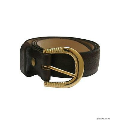 Silverts 508500203 Mens Assorted Leather Belts 32, Brown
